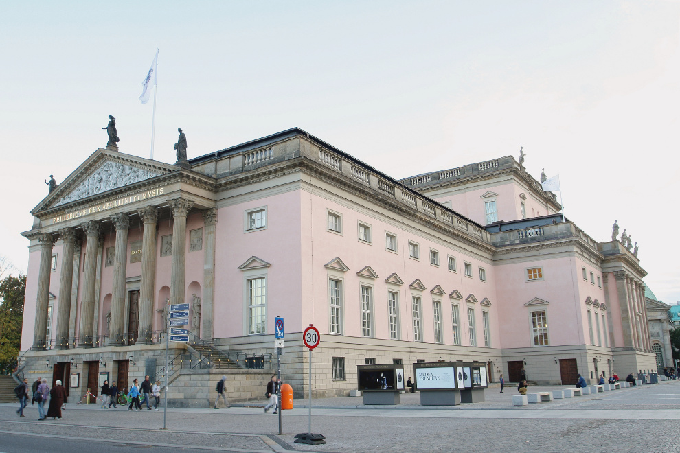 Generalsanierung der Staatsoper Unter den Linden