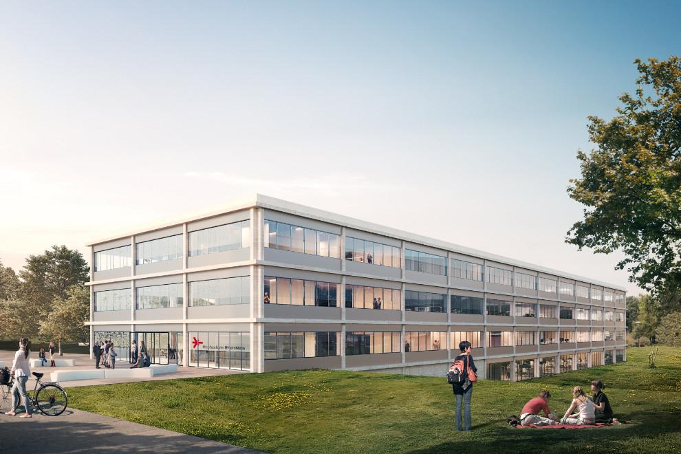 Neubau eines Lehr- und Lernzentrums der Hochschule RheinMain