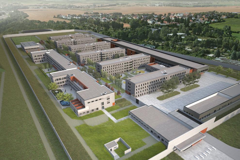 Neubau Justizvollzugsanstalt Zwickau